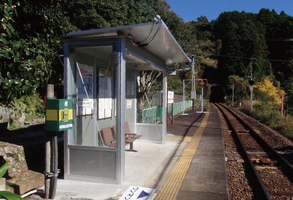 波田須駅 駅舎