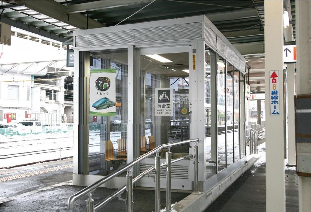 福島駅 待合室  4・5番線