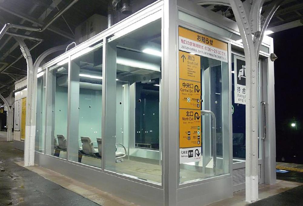 王子駅 待合室