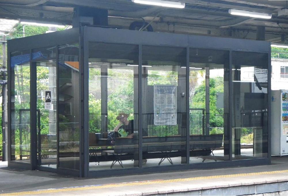 相模湖駅 待合室  2・3番線