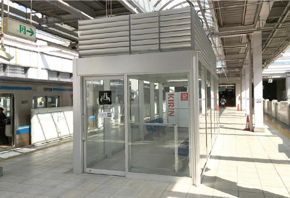 センター北駅 待合室  3・4番線